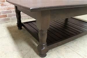 Durable Oak Coffee Table - ECustomFinishes