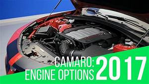 2017 Chevrolet Camaro  Engine Options