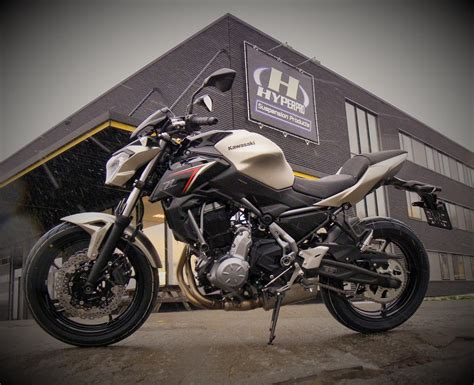 Hyperpro Suspension For The New Kawasaki Z650 2017!