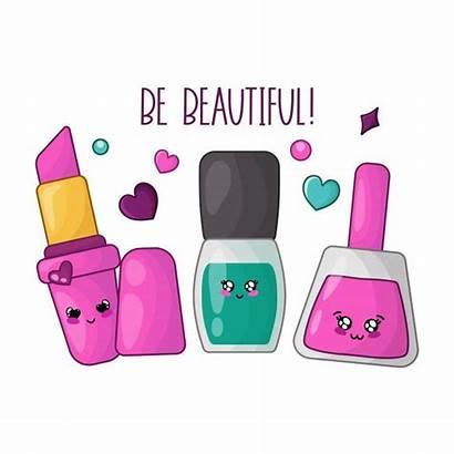 Kawaii Nail Cartoon Manicure Esmaltes Stuff Makeup