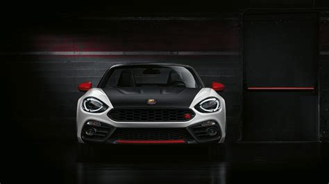 2017 Fiat 124 Spider Abarth Wallpaper Hd Car Wallpapers