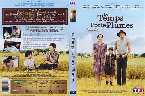 jaquette dvd de le temps des porte plumes cin 233 ma