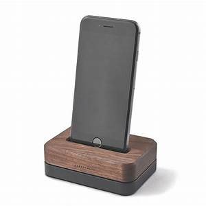 Iphone 4 Dockingstation : wood iphone docking station 3 lb black stainless steel stand ~ Sanjose-hotels-ca.com Haus und Dekorationen