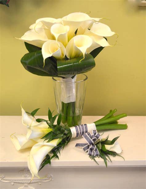 wedding bouquets calla lilies calla wedding bouquets utica ny 8498