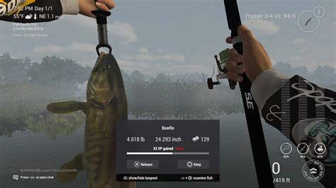 fishing planet topwater wv mitchell edited december