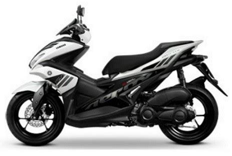 Yamaha Aerox 155vva Picture by Yamaha Aerox White Decal Emblem Set