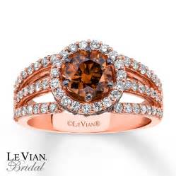 chocolate engagement rings levian chocolate diamonds 1 5 8 ct tw 14k gold engagement ring