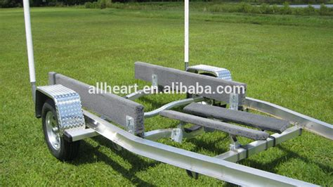 Boat Trailer Chine Load Guides by Heavy Duty Dual Axle Aluminum Boat Trailer Buy Aluminum