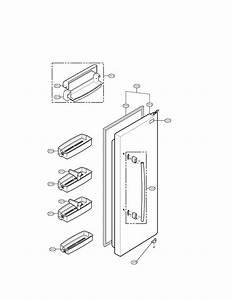 Refrigerator Parts Diagram  U0026 Parts List For Model