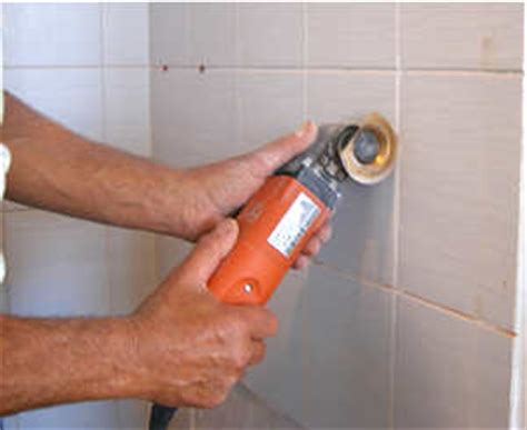 how to remove grout from tile grout removal using oscillating tool home construction