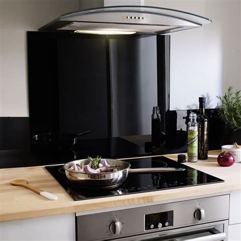fond cuisine fond de hotte verre castorama maison design bahbe com
