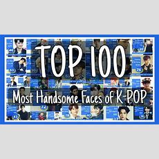 Top 100 Most Handsome Faces Of Kpop 2016  Youtube