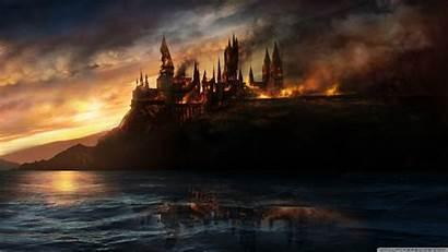 Potter Harry Hallows Deathly Wallpapers Desktop Background