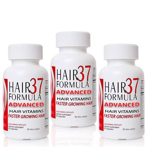 hair formula 37 advanced 3 bottle special fast hair growth