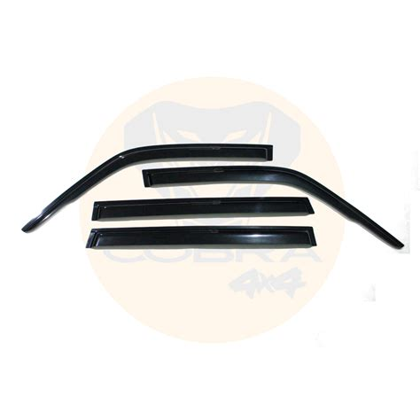 nissan patrol gu injection weather shields window door