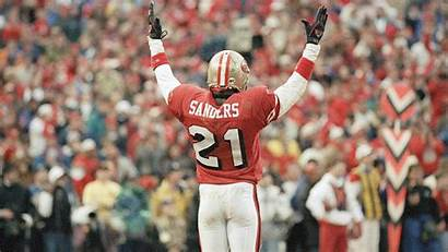 Sanders Deion Wallpapers Highlights Wallpaperaccess Backgrounds Reliving
