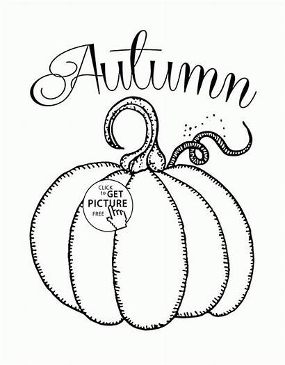 Coloring Fall Pages Autumn Happy Printables Drawing