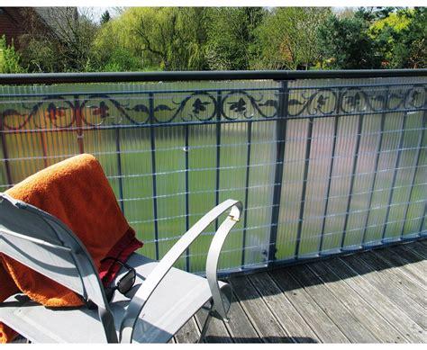 Sichtschutz Fuer Den Balkon Das Schuetzt Vor Fremden Blicken by Balkon Sichtschutz Quot Quot G 252 Nstig Kaufen