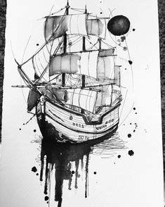 old time sailing ship clip art   Vintage old Ships illustration. — Stock Vector © VladisChern