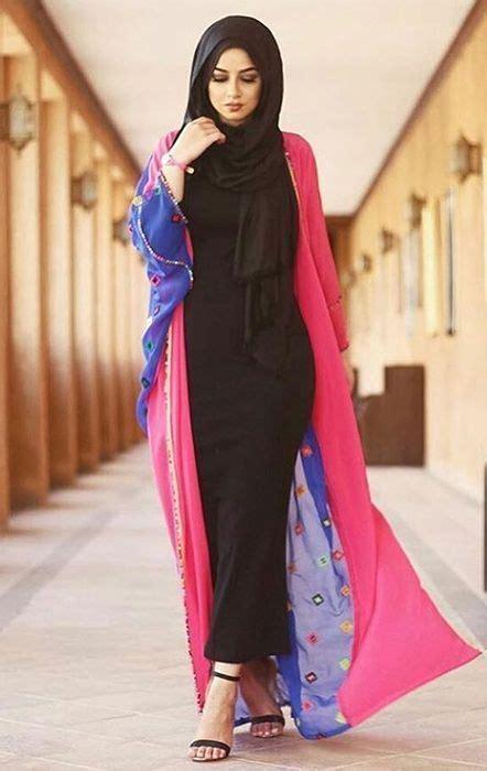 latest summer kimono hijab outfit inspirations girls