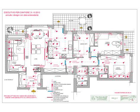 Disegno Impianto Elettrico Appartamento by Savelli Architettura Design Esecutivi Impianto Elettrico