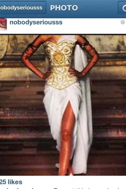 Dress: greek, greek goddess, greek; gold; green; white