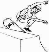 Skateboard Coloring Skateboarding Extreme Skateboards Skateboarder Boy Logos Halfpipe Skating Jumping Apparel Sport Tricks Coloringpages101 Brand Sketch Deck Template Coloring2print sketch template