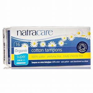 Natracare Super Tampons With Applicator  Organic