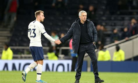 Report: Jose Mourinho would welcome Christian Eriksen back ...