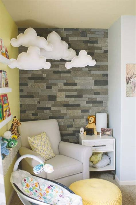 Don't be discouraged— a big, dull windowless wall can be the perfect canvas for you to apply creative ideas and infuse the walls with some life, warmth and style by decorating them. 22 Terrific DIY Ideas To Decorate a Baby Nursery - Amazing ...