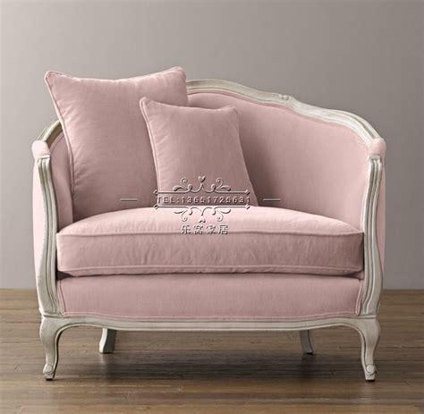 sessel samt rosa direkte american country holz samt rosa stoff sofa kleine wohnung continental sessel brauch