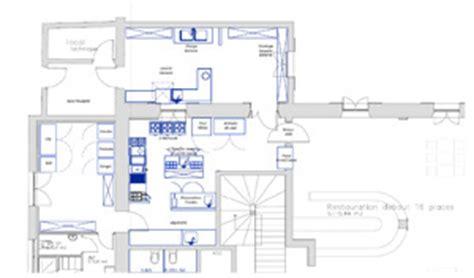 plan cuisine restaurant normes conception de cuisines professionnelles 13 cfp