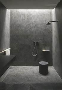 renovation salle de bain douche sans joint et sans With carrelage salle de bain sans joint