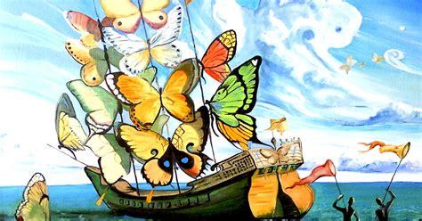 """""""El barco de mariposas"""" atribuido a Salvador Dalí, es en ..."""