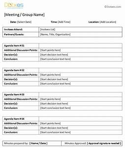 general meeting minutes template dotxes With standard minutes of meeting template