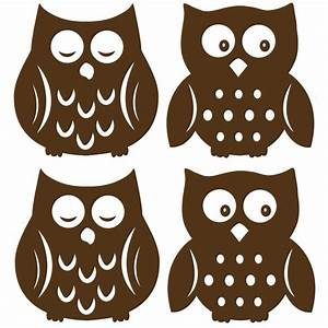 cute owl silhouette | SVG's - Silhouettes - Coloring Pages ...