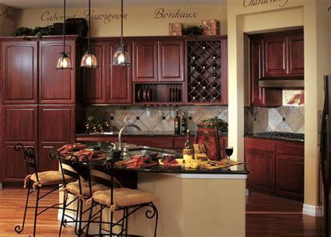 dark cherry kitchen cabinet makeover wine dark cherry