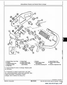 John Deere 430 Garden Tractor Parts Diagram