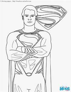 Free coloring pages of batman and superman