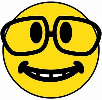 Smiley Face Nerd Faces Glasses Clipart Glass