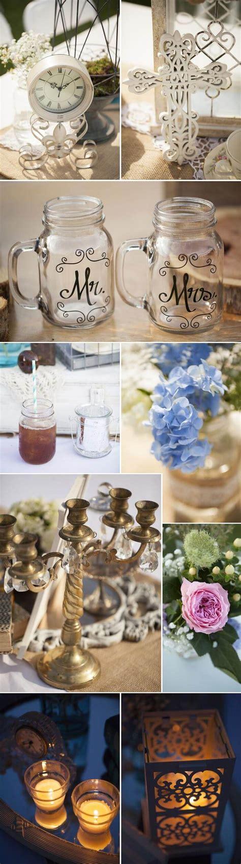 Hochzeitsdeko Vintage  Zauberhafte Beispiele