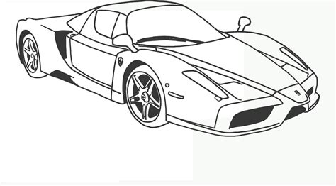disegni da colorare gratis auto bucatti da corsa
