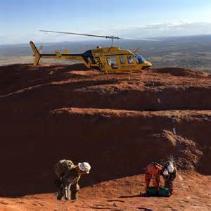 Uluru Rescue Three Men Trapped Crevice For Hours