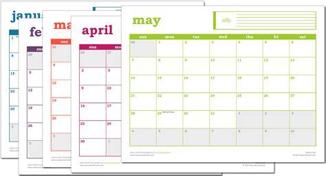 excel calendar template easy excel calendar excel template savvy spreadsheets