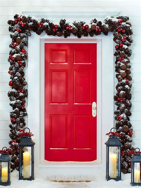 10 Pretty Christmas Door Decorations  Home Design, Garden. Christmas Decorations Shop Bristol. Diy Christmas Decorations With Ribbon. Personalised Christmas Decorations Myer. Christmas Decorating Ideas Mason Jars