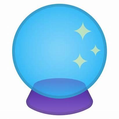 Icon Crystal Ball Emoji Google Emojis Icons