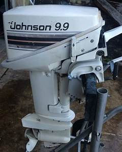 Used Johnson 9 9 Hp Outboard Boat Motor For Sale Used