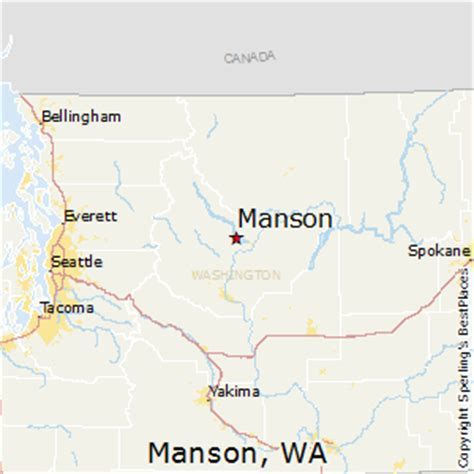 places    manson washington