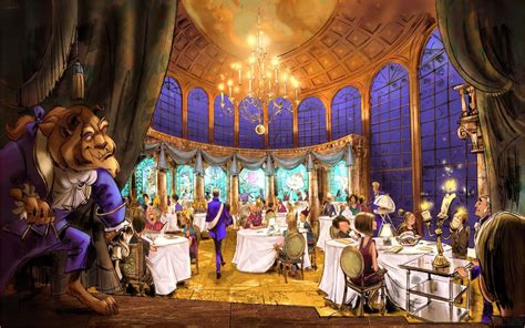 Be Our Guest Restaurant Menu Served Up By Walt Disney