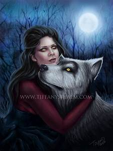 Items similar to 8x10 Lupa - lycan werewolf vampire gothic ...